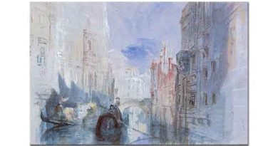 Joseph Mallord William Turner Arsenal Kanalları