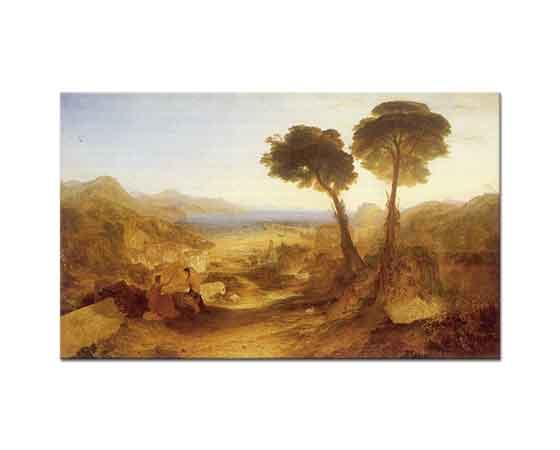 Joseph Mallord William Turner Baiae Koyu