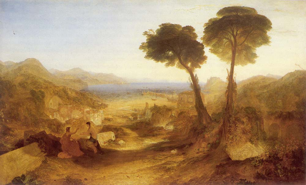 Joseph Mallord William Turner Baiae Koyu