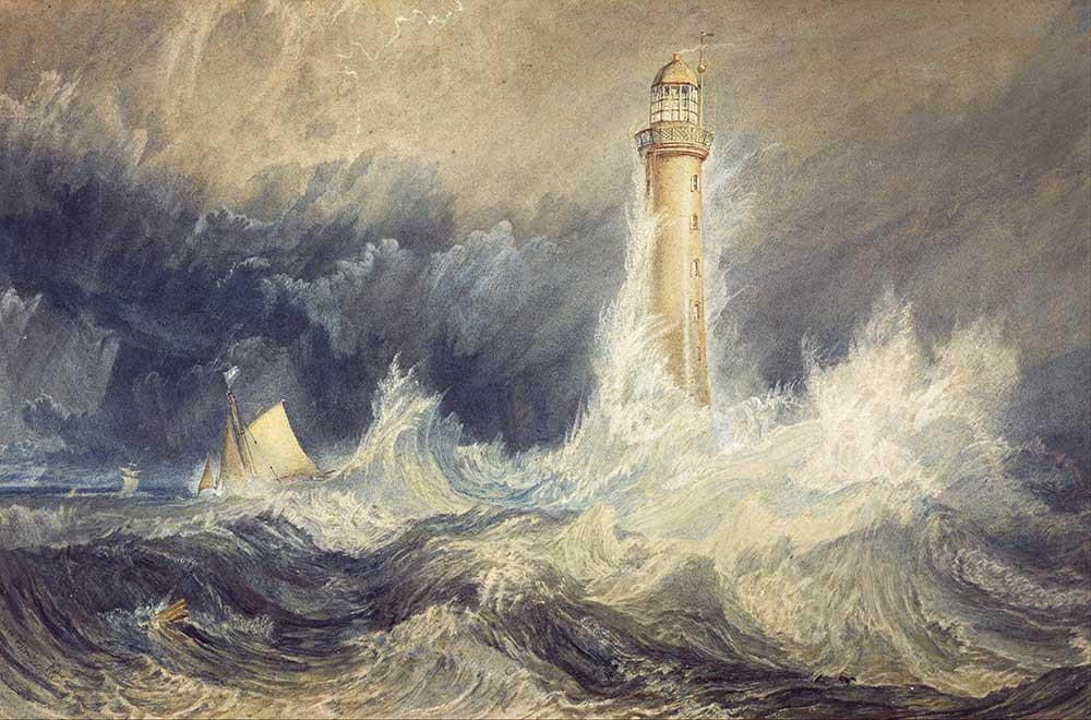 Joseph Mallord William Turner Deniz Feneri Bell Kayalıkları