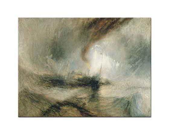 Joseph Mallord William Turner Denizde Kar Fırtınası
