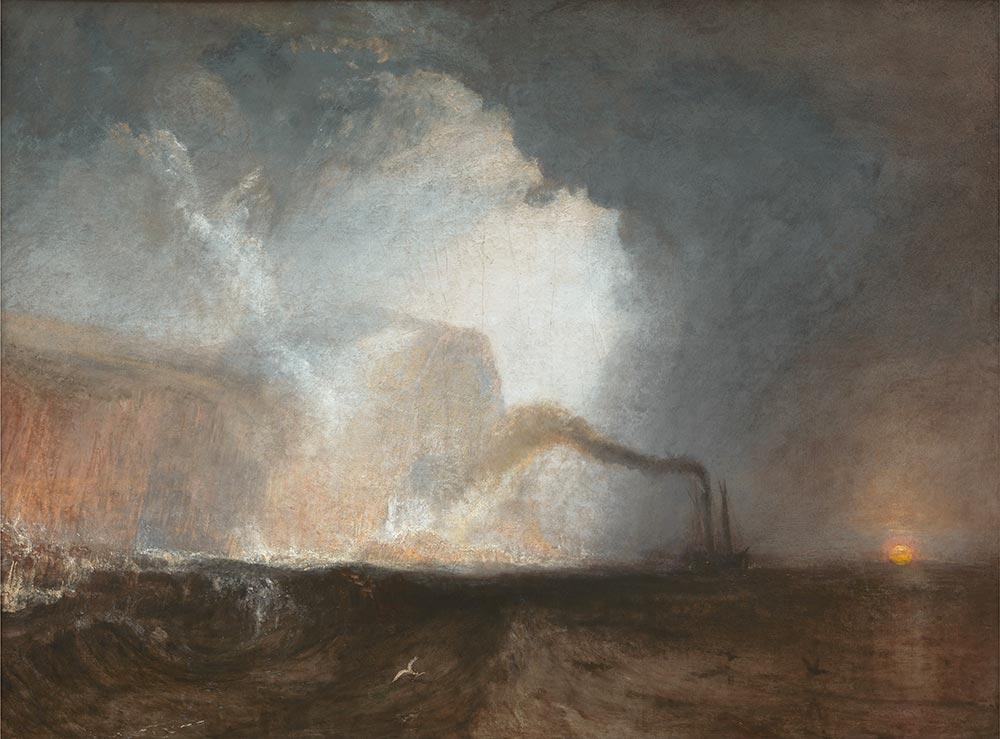 Joseph Mallord William Turner Fingal Mağarası