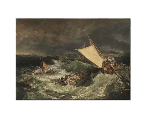 Joseph Mallord William Turner Gemi Kazası