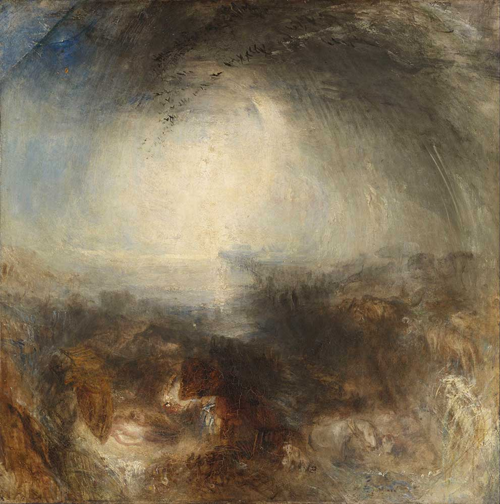 Joseph Mallord William Turner Gölge ve Karanlık