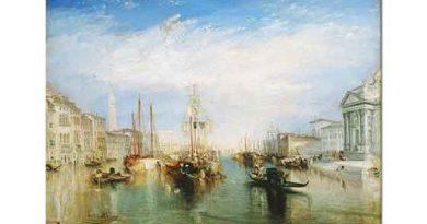 Joseph Mallord William Turner Grand Kanal Venedik