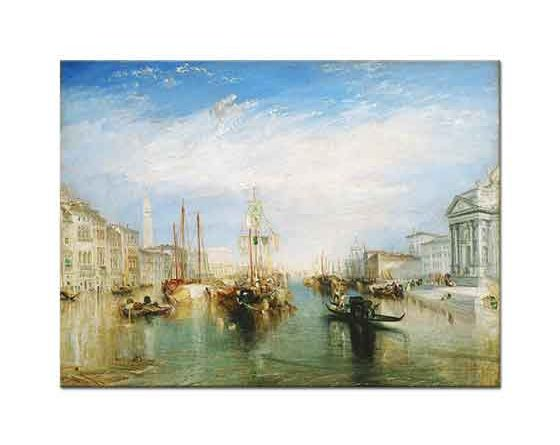 Joseph Mallord William Turner Grand Kanal Venedik