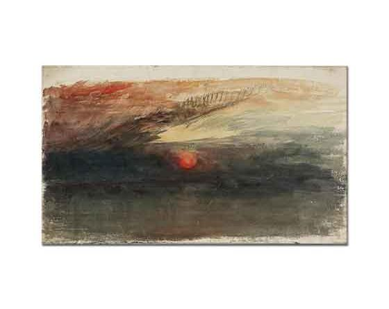 Joseph Mallord William Turner Gün Batımı