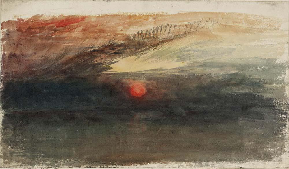 Joseph Mallord William Turner Gün Batımı