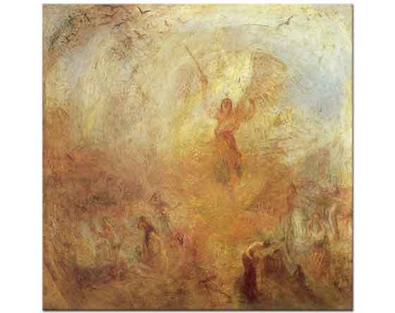 Joseph Mallord William Turner Güneşin Önündeki Melek