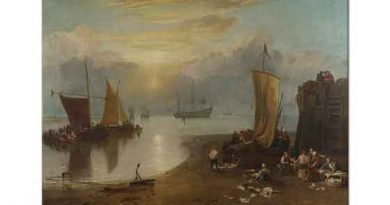 Joseph Mallord William Turner Kıyıda Gün Doğumu