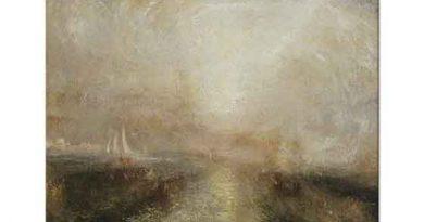 Joseph Mallord William Turner Kıyıya Yaklaşan Yelkenli