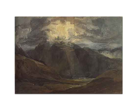 Joseph Mallord William Turner Lianberis