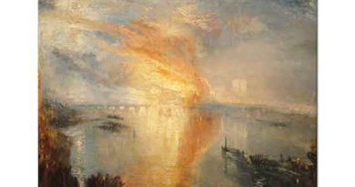 Joseph Mallord William Turner Londra Yangını