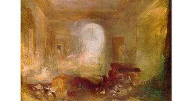 Joseph Mallord William Turner Petworth'ta iç Mekan