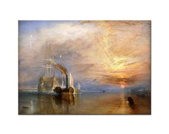 Joseph Mallord William Turner Savaş Yelkenlisi Temeraire