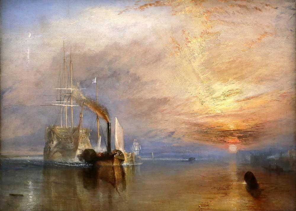 Joseph Mallord William Turner Savaş Yelkenlisi Temeraire