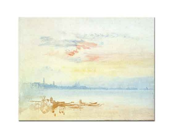 Joseph Mallord William Turner Venedik Manzarası