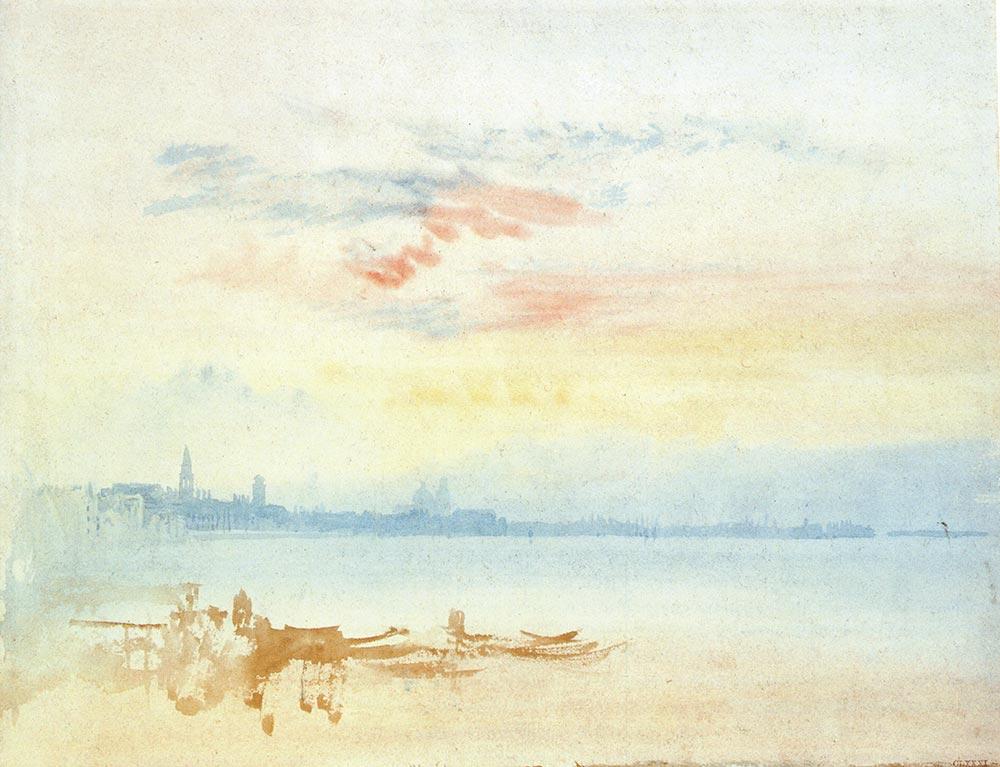 Joseph Mallord William Turner Venedik Manzarası