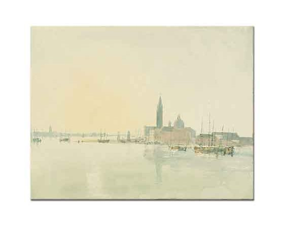 Joseph Mallord William Turner Venedik San Giorgio Maggiore