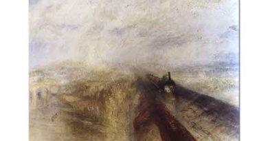 Joseph Mallord William Turner Yağmur Buhar ve Hız