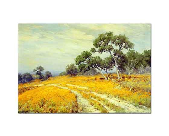 Julien Onderdonk Ağaçlı Manzara