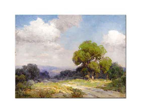 Julien Onderdonk Güneybatı Texas Tepelerinde Sabah