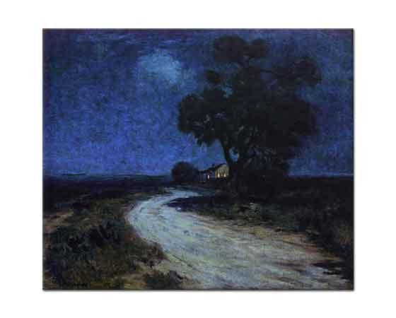 Julien Onderdonk Güney Texas'ta Ay Işığı