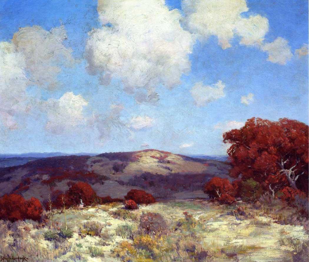 Julien Onderdonk İspanyol Meşeli Tepelerde