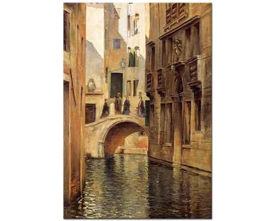 Julius LeBlanc Stewart Venedik'te Kanal