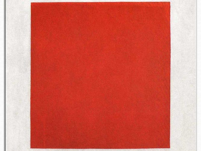 Kazimir Malevich Kırmızı Kare