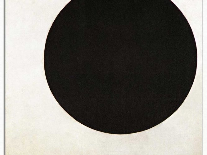 Kazimir Malevich Siyah Daire
