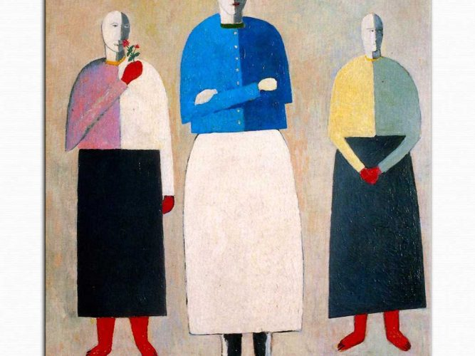 Kazimir Malevich üç bayan