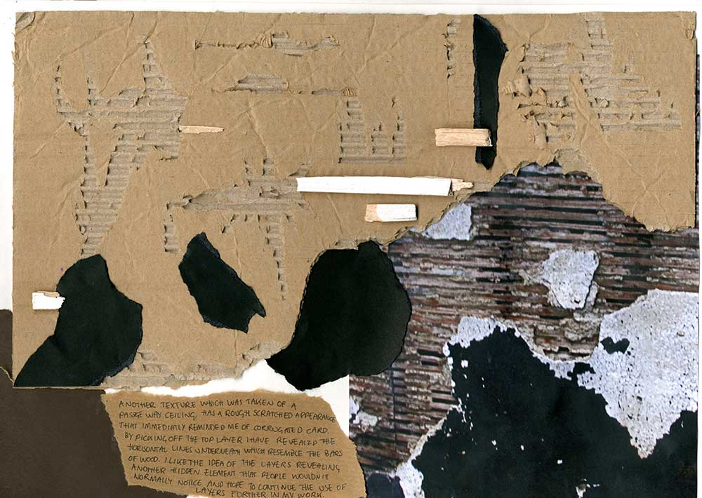 Kurt Schwitters Tekstür