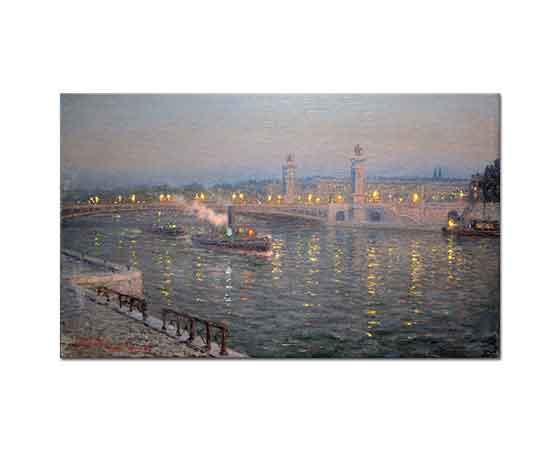Lionel Walden üçüncü Alexander Köprüsü Paris