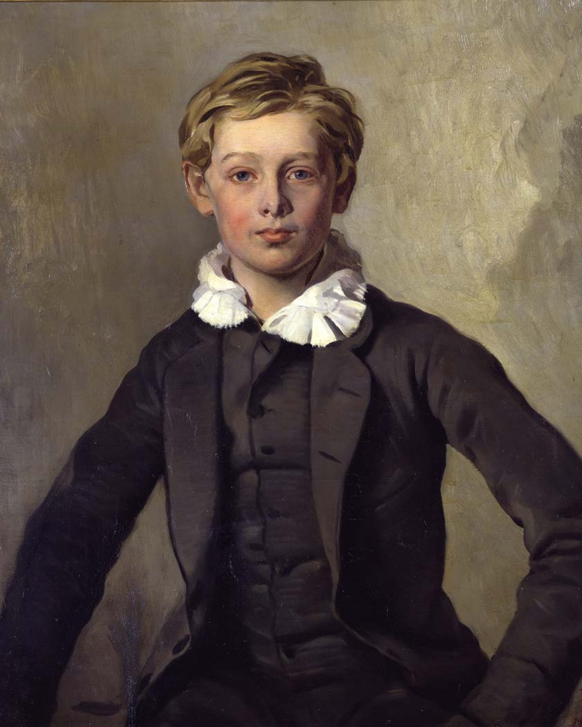 Louis Ferdinand von Rayski Genç Portresi
