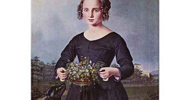 Louis Ferdinand von Rayski Kadın Portresi
