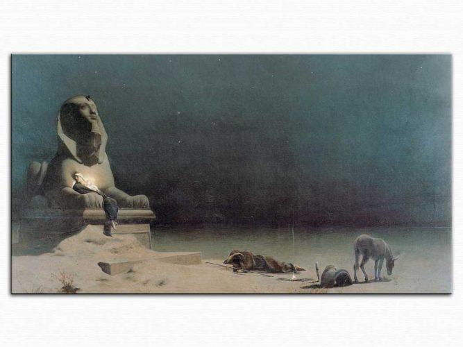 Luc Olivier Merson Mısır'da Huzur