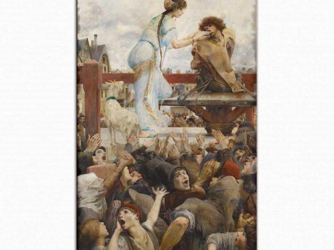 Luc Olivier Merson Notre Dame'ın Kanburu