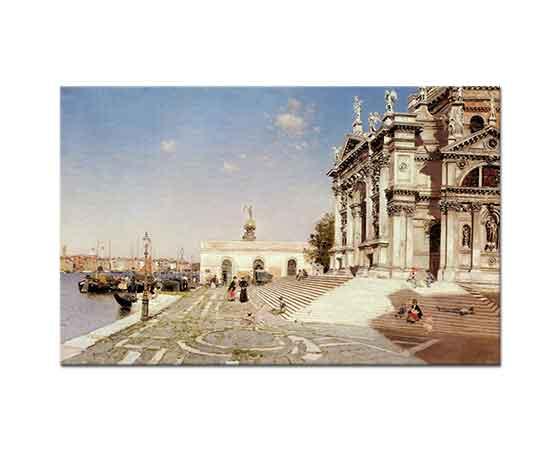 Martin Rico Ortega Santa Maria'dan Bakış Venedik