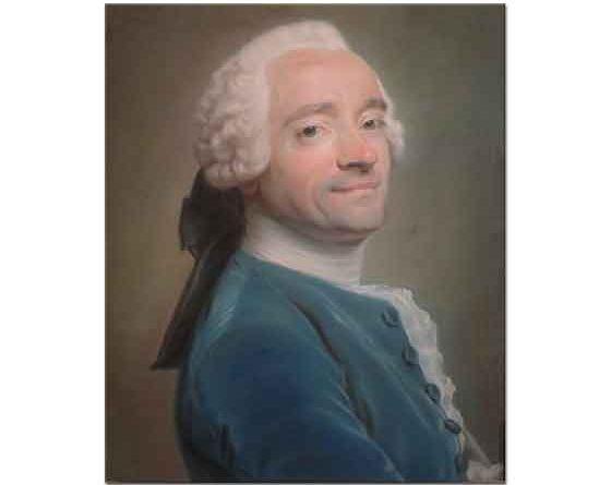 Maurice Quentin de La Tour Kendi Portresi