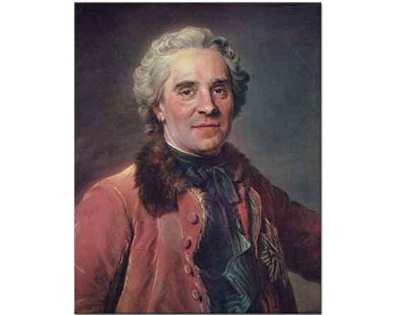 Maurice Quentin de La Tour Portre
