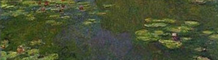 Claude Monet nin Nilüferli Gölet tablosu