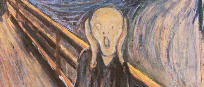 Edward Munch imzalı Çığlık tablosu