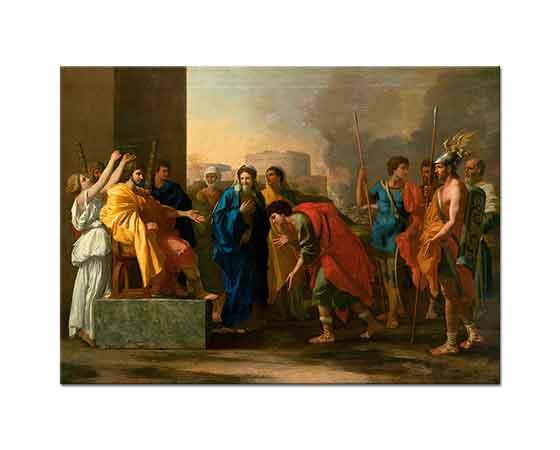 Nicolas Poussin Scipio'nun İtidali