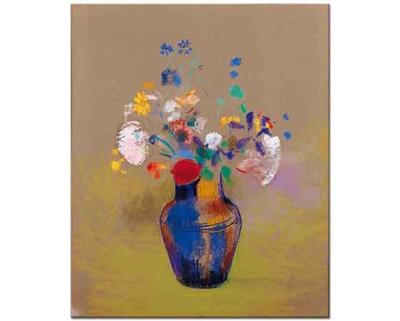 Odilon Redon Çiçekler