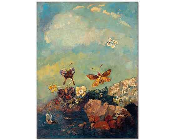 Odilon Redon Kelebekler