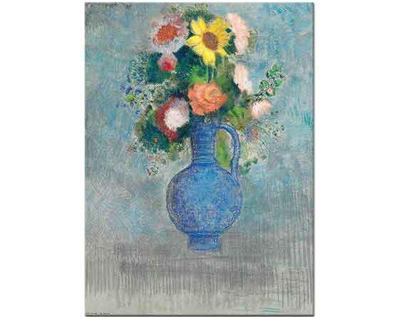 Odilon Redon Vazoda Çiçek Demeti