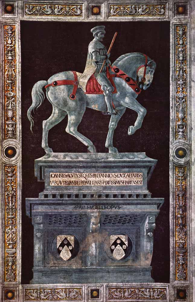 Paolo Uccello Giovanni Acuto