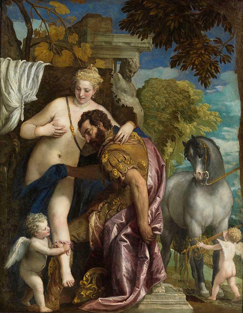 Paolo Veronese Mars ve Venüs