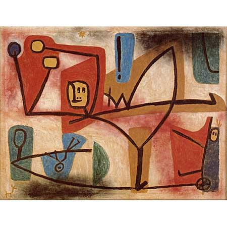 Paul Klee Cesaret